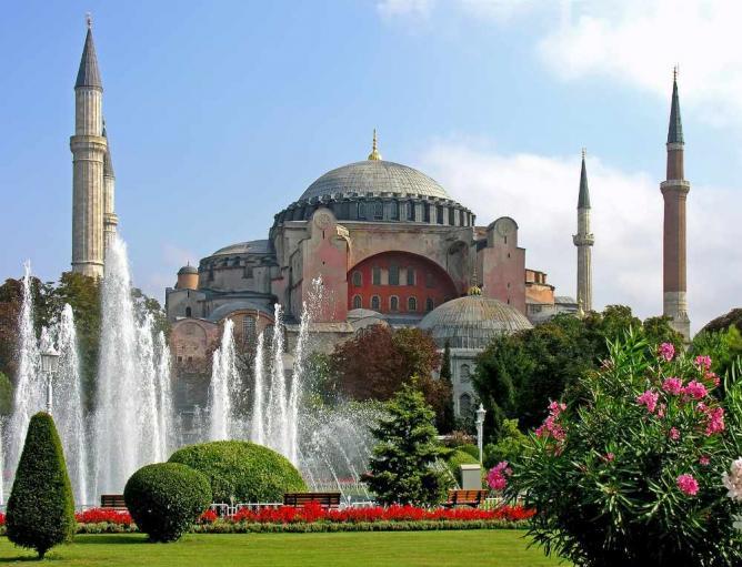 Turkey-3019 - Hagia Sophia   © Dennis Jarvis/Flickr