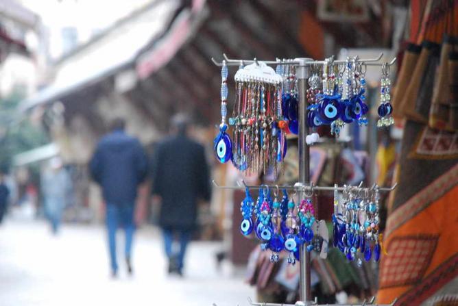 Evil Eye Charms at Arasta Bazaar   © SpirosK photography/Flickr