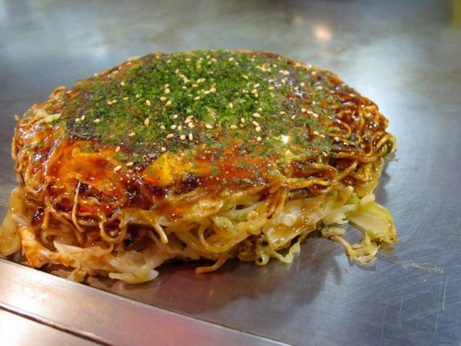 The Best Okonomiyaki In Kyoto, Japan