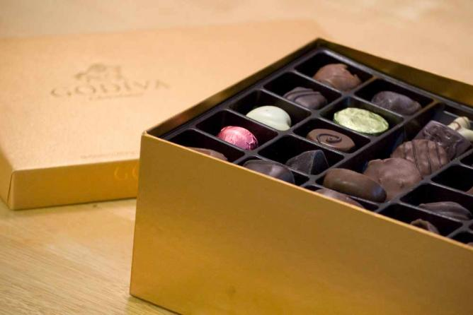 Godiva chocolate | © Mandy Jansen/Flickr