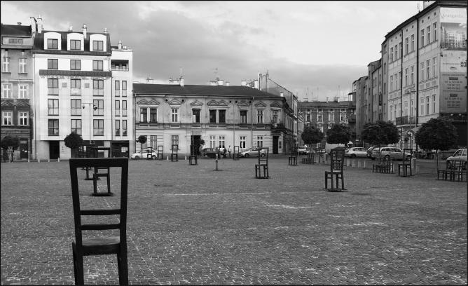 Plac Zgody, centre of the Jewish Ghetto, Podgorze