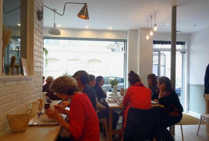 Lunch at Maison Bastille | © Casey Brand