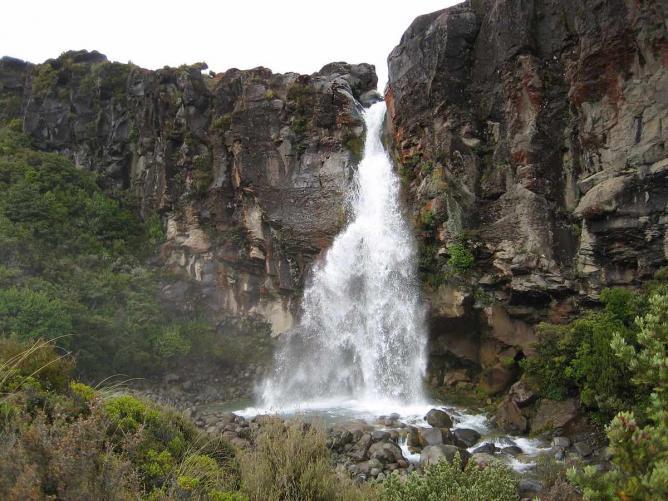 Taranaki Falls | © Patleahy/WikiCommons