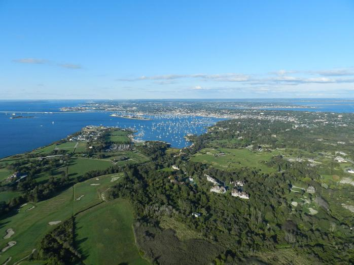 Newport Rhode Island Aerial View | © Michael Kagdis/Wikicommons