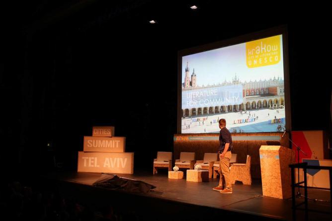'Cracking the Innovation Code,' the 6th UNESCO Cities Summit, Tel Aviv, September 7-8, 2015 | © Ori Taub