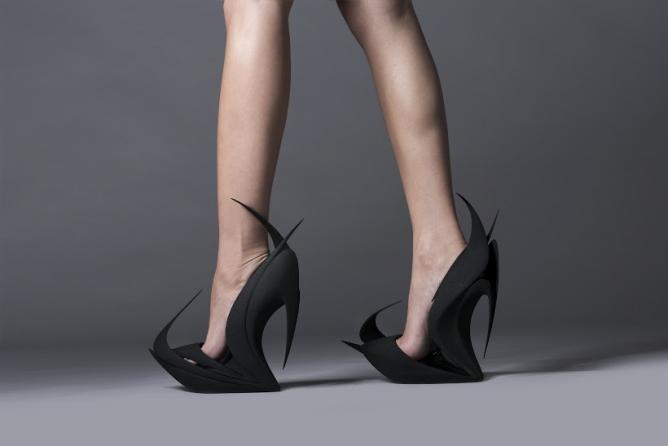 FLAMES shoe | Courtesy of UNITED NUDE