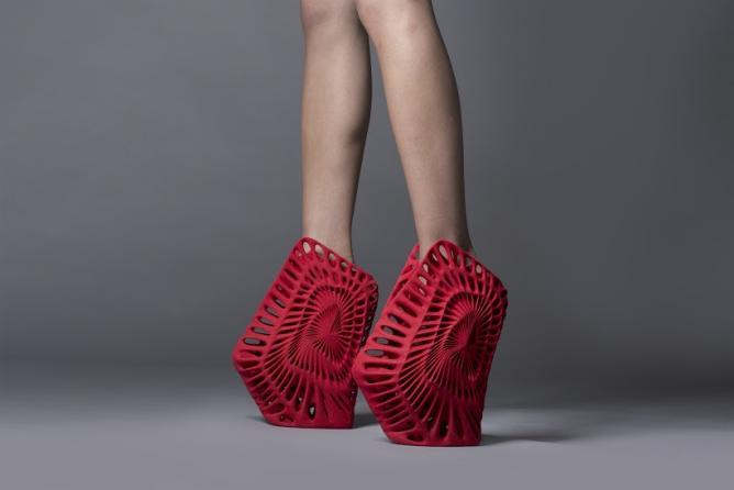 AMMONITE shoe | Courtesy of UNITED NUDE