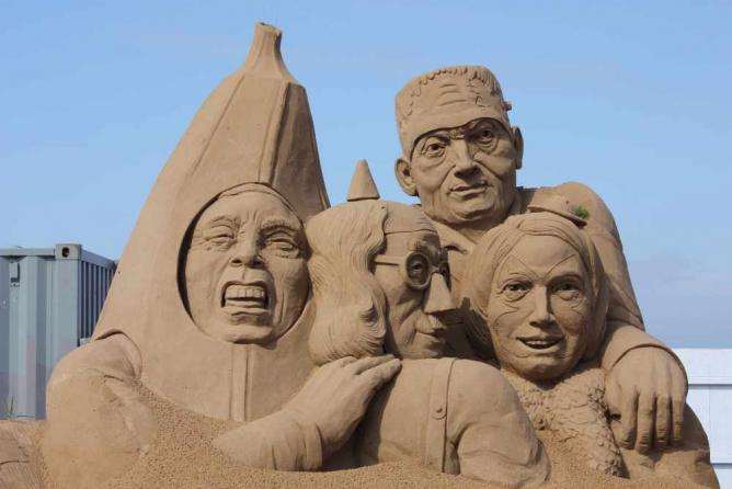 Weston Sand Sculpture Festival 2012 | © David Bolton/Flickr