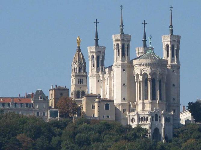 Basilique de Fourvière | ©MickaëlG/WikiCommons