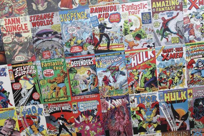 Comic Books   © Sam Howzit/Flickr
