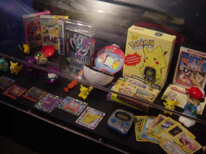 Pokemon merchandise   © Mighty June/Flickr