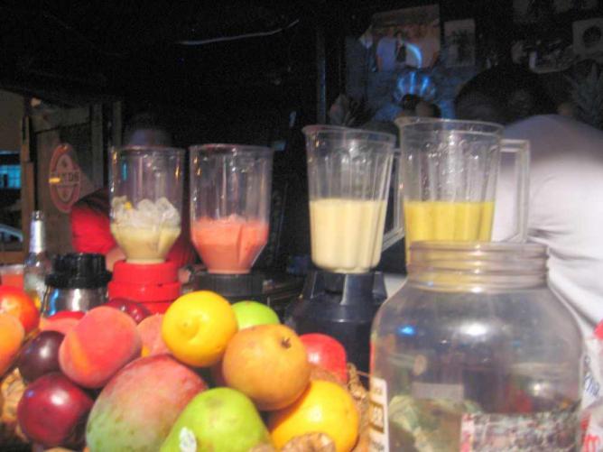 Fresh fruit blenders
