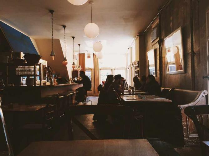 Madame Claude Cafe Menu