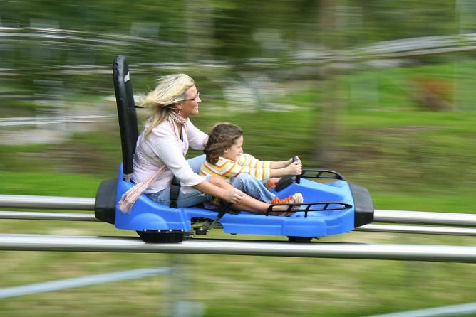 A similar coaster at the Eifelpark in Germany © Eifelpark GmbH/WikiCommons