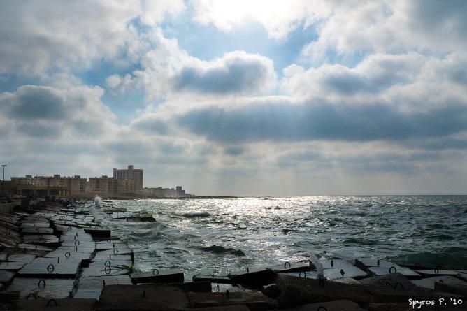 Alexandria seaside | © Spyros Petrogannis/Flickr
