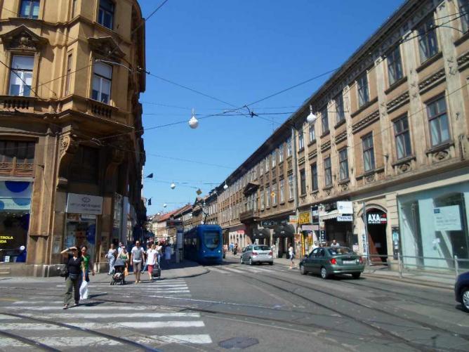 Ilica street | © Ieva Mickute