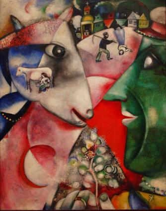Moi et le village, Marc Chagall | © Gautier Poupeau/Flickr