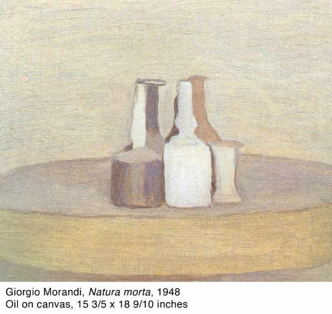 Giorgio Morandi, 'Natura morta,' 1948   Courtesy Kohn Gallery
