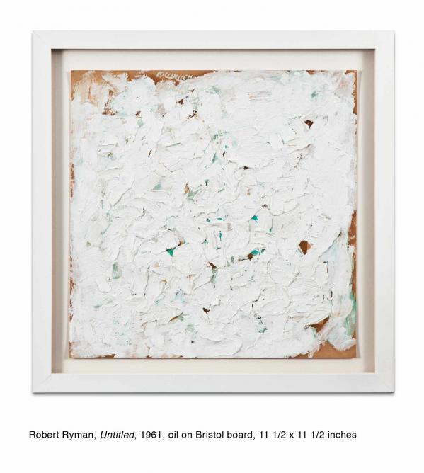 Robert Ryman, 'Untitled', 1961   Courtesy Kohn Gallery