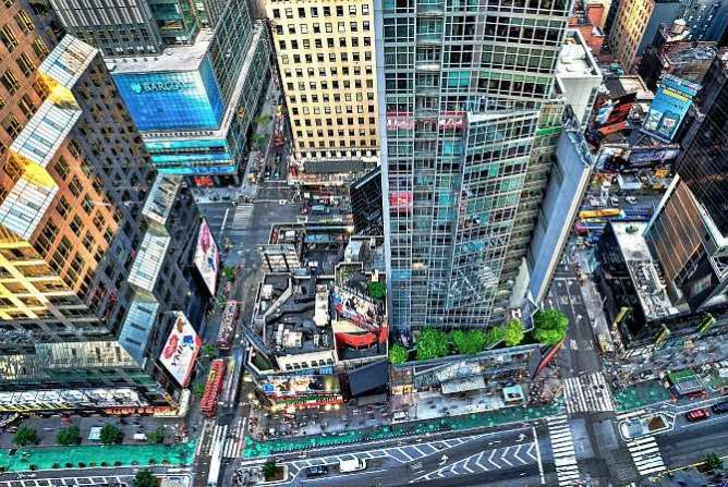 Above Broadway, Michael Tischler Limited Edition Image