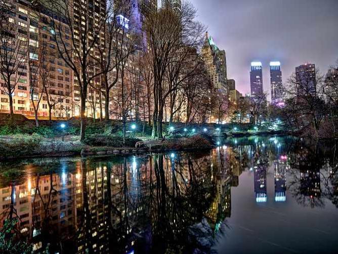 Central Park Evening, Michael Tischler Limited Edition Image