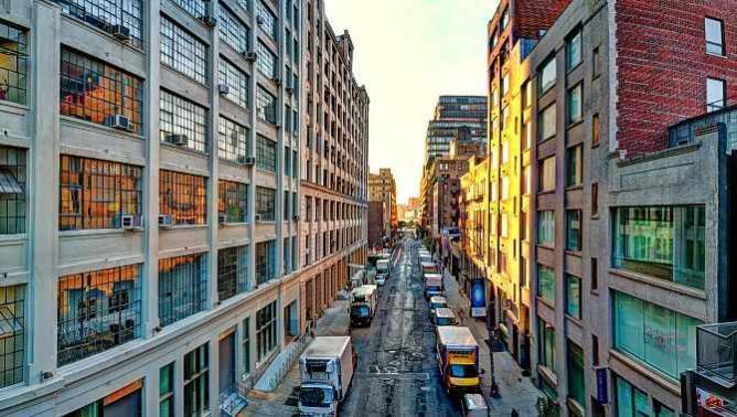 High Line Sunset, Michael Tischler Limited Edition Image