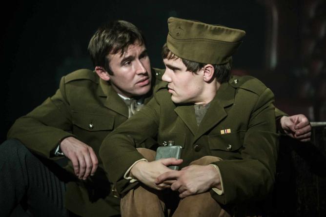 David Flynn & Adam Pettigrew in 'The White Feather' | Scott Rylander