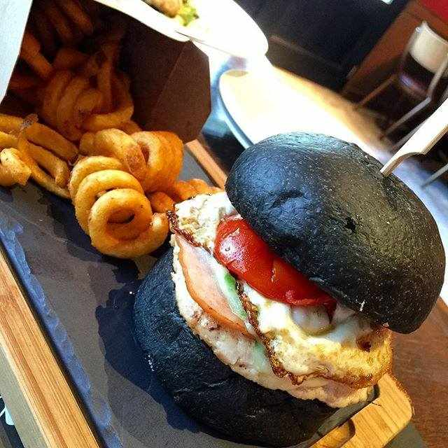 Black Force Burger | Courtesy of 25 Degrees