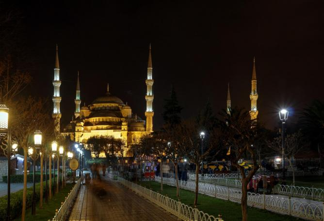 Istanbul by night | © daniyal62/Flickr