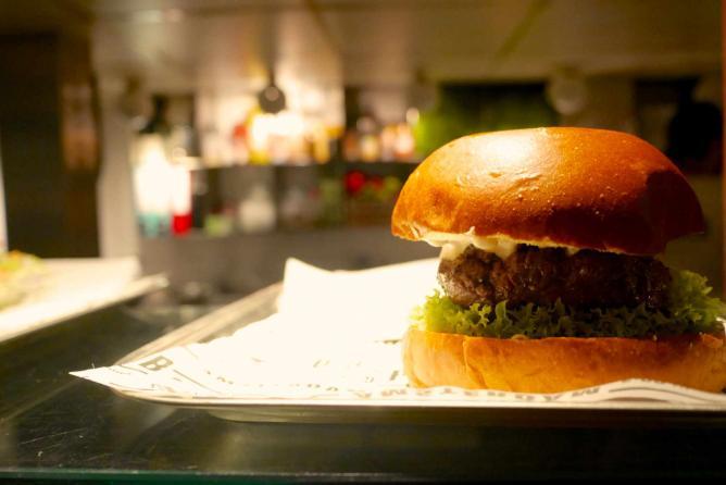 A Burger at The Butcher