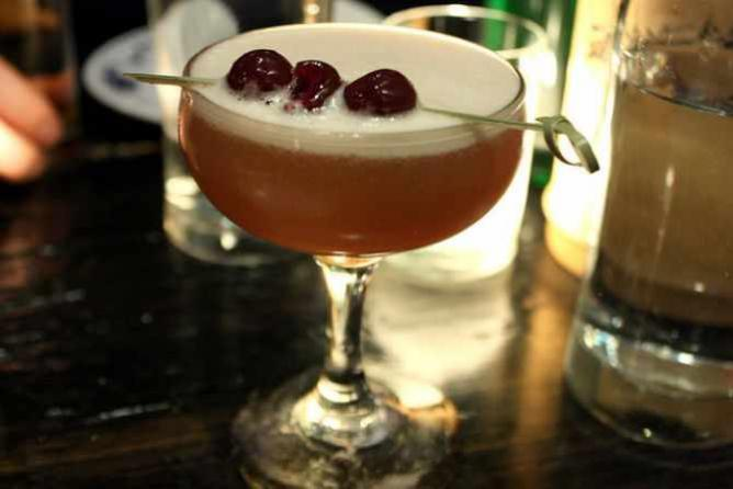 Fatty crab whiskey sour | © Krista/Flickr