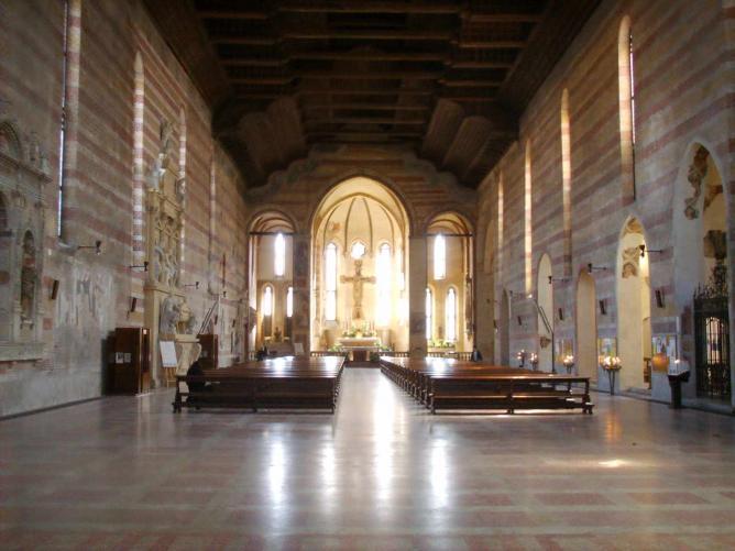 Interior of Chiesa degli Eremitani | © Sailko/WikiCommons