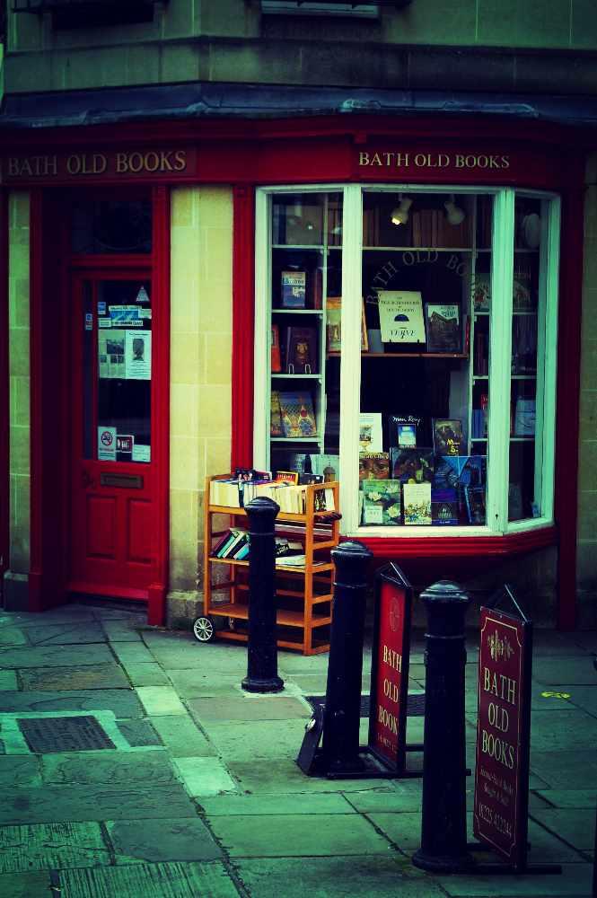 Bath Old Books, Bath © Amelia Wells/Flickr
