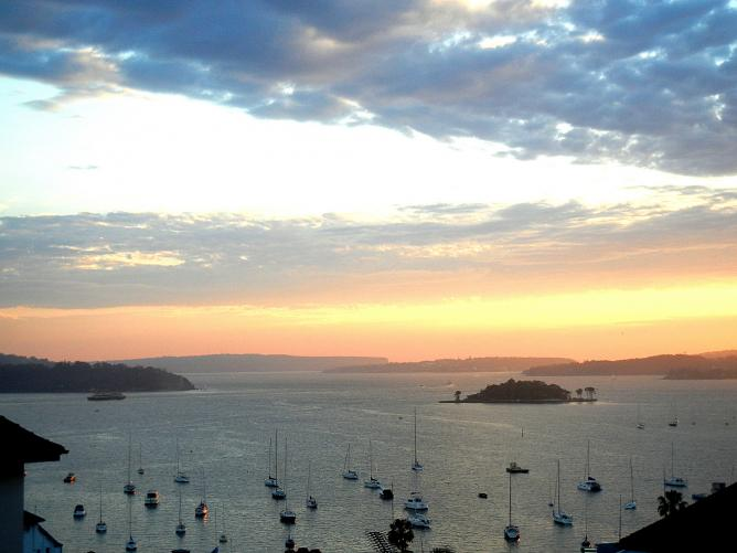 Sydney Harbour from Potts Point