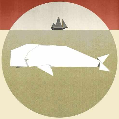 Moby Dick | © London Literature Festival/Courtesy of Laura Steele
