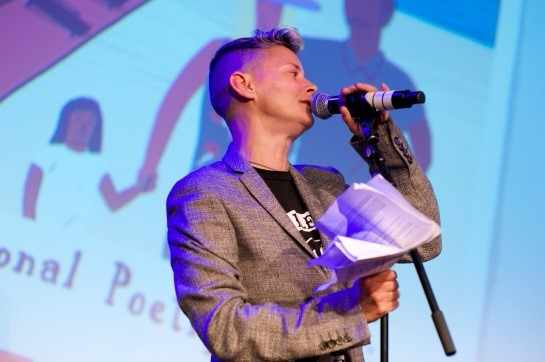 National Poetry Day Live | © London Literature Festival/Courtesy of Laura Steele