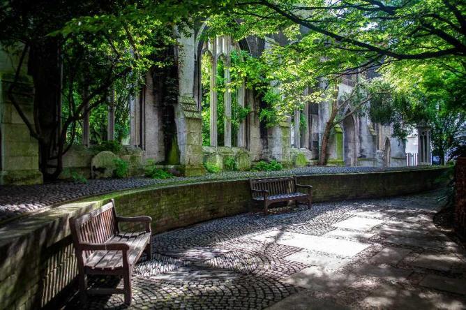 St Dunstans in the East | © Gareth Evans/Flickr
