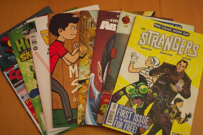 Free Comic Book Day   © Jamaleddin Cole/Flickr