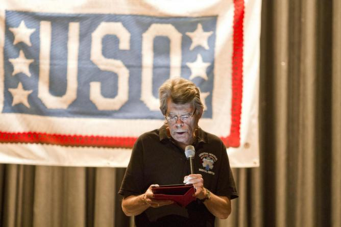 Stephen King | © The USO/Flickr