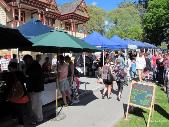 Christchurch Farmers Market   © Miles Continental/Flickr