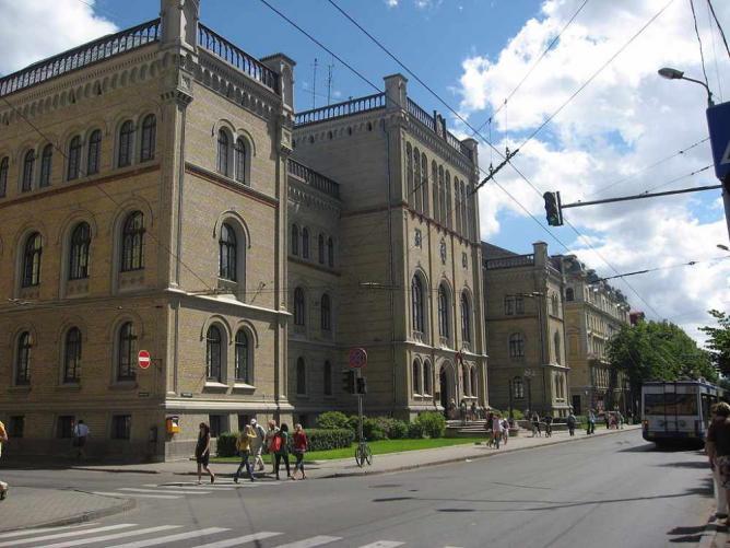 University of Latvia | © Dezidor/Wikicommons