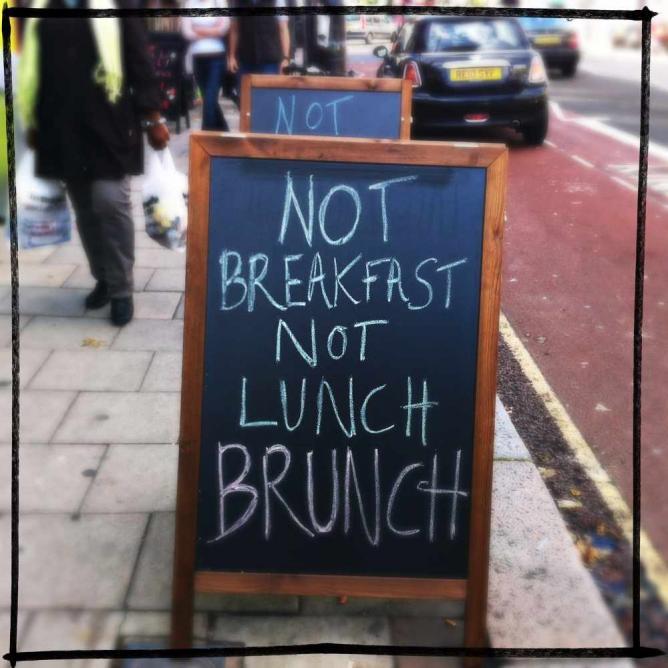 Brunch sign | © Louise McLaren/Flickr