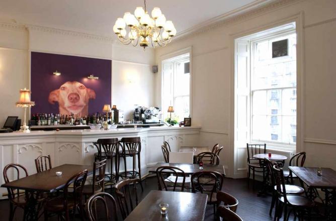 Restaurant interior   © The Dogs