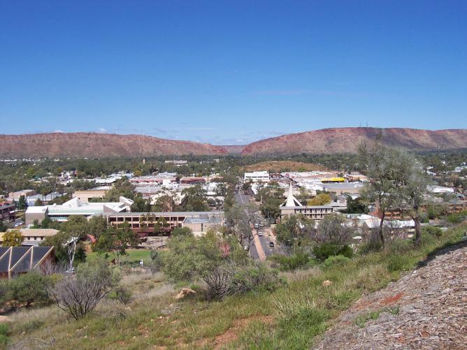 Finding love in Alice Springs