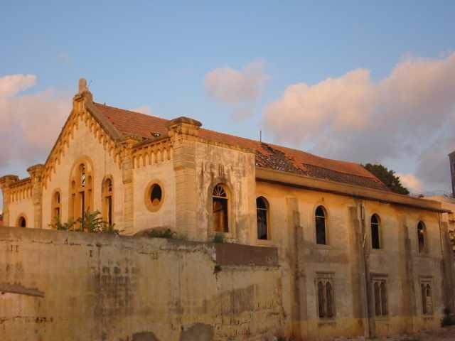 Maghen Abraham Synagogue prior to restoration