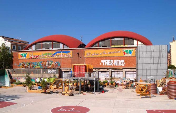 Mercado de la Cebada   © Tiia Monto/WikiCommons