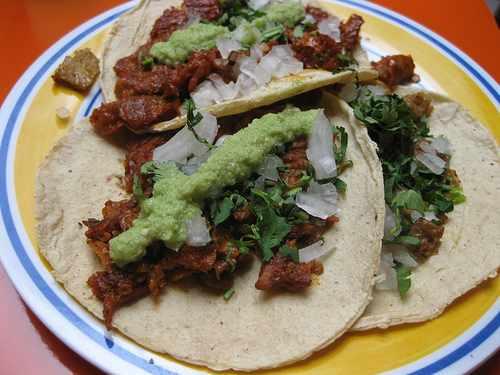 Vegetarian tacos | © Madeleine Ball/Flickr