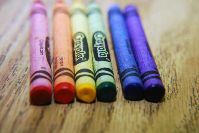 Crayons © Danielle Kellogg/Flickr