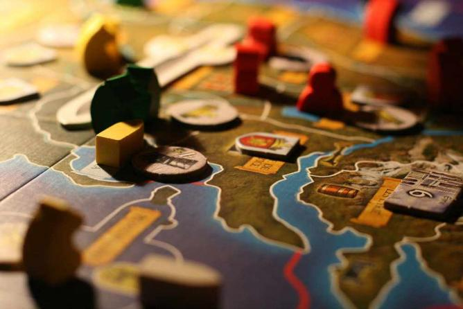 Game of Thrones board game © François Philipp/wikicommons