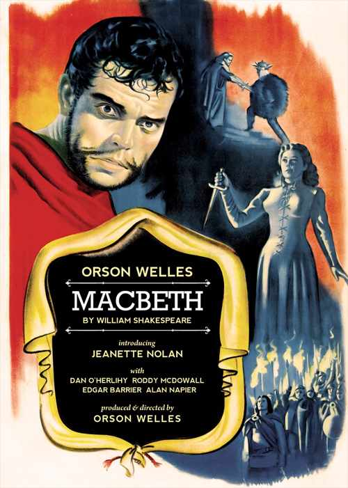 Macbeth 1948 poster © Movie Poster Database